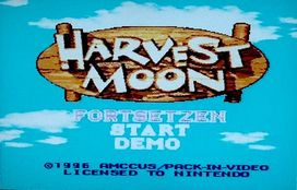 Harvest Moon [SNES]